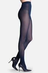 Women's Insignia By Sigvaris 'Headliner' Opaque Graduated Compression Tights Midnight Blue