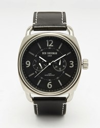 Ben Sherman Covent Multi Function Watch In Black Black