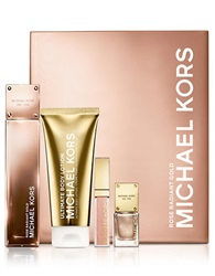 Michael Kors Four Piece Rose Radiant Gold Deluxe Set No Color