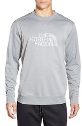 The North Face Men's 'Ampere' Graphic Crewneck Sweatshirt Monument Grey
