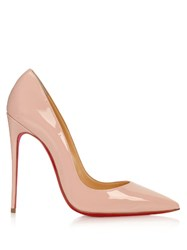 Christian Louboutin So Kate 120Mm Patent Leather Pumps Light Pink
