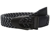 Oakley Stretch Braided Belt Jet Black Men's Belts