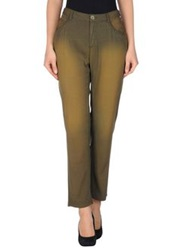 Theyskens' Theory Casual Pants Military Green
