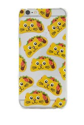 Forever 21 Taco Cat Case For Iphone 6 6S Yellow Multi