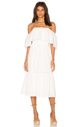 Lucy Paris Senorita Bonita Dress White