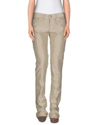 Ralph Lauren Denim Denim Trousers Women Beige