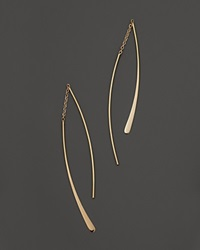 Bloomingdale's 14K Yellow Gold Small Double Wire Dangle Earrings