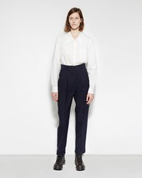 Margaret Howell Pleat Pocket Trouser Navy