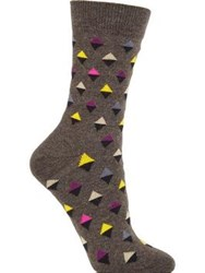 Happy Socks Mini Diamond Grey