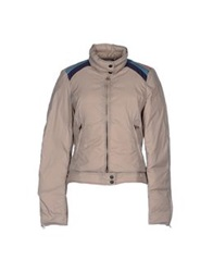 Crust Down Jackets Dove Grey