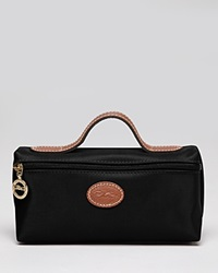 Longchamp Cosmetic Case Le Pliage Black