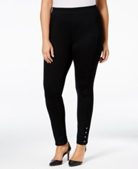 Styleandco. Style Co. Plus Size Ponte Leggings Only At Macy's Deep Black