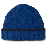 Universal Works Blue Soft Wool Cable Beanie