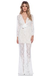Toby Heart Ginger X Love Indie Mermaid Lace Dress White