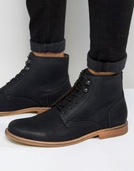 Call It Spring Croiwet Laceup Boots Black