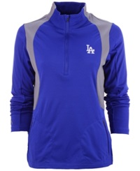 Antigua Women's Los Angeles Dodgers Delta Pullover Royalblue