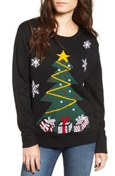 Love By Design Women's Light Up Tree Christmas Sweater