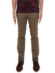 Ted Baker T For Tall Seryntt Slim Fit Chinos Brown