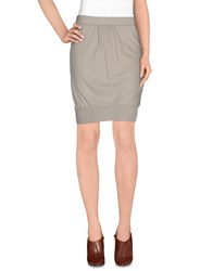 Jucca Skirts Knee Length Skirts Women Light Grey