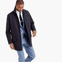 J.Crew Water Repellent Bonded Mac Jacket