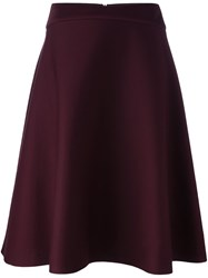 Chalayan A Line Skirt Red