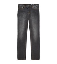 Versace Collection Stretch Denim Jeans Male Grey