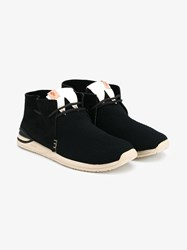 Visvim Huron Mesh Moc Folk Sneakers Black White Beige Moccasin Blue Denim