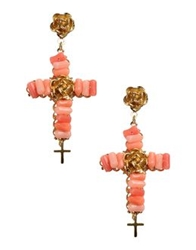 Reminiscence Earrings Coral
