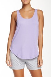 Joe's Jeans Cara Racerback Tank Purple