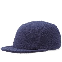 Larose Paris Casentino Wool 5 Panel Cap Blue