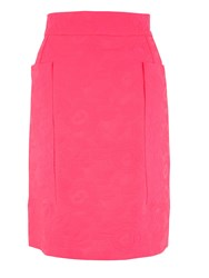 Almari Fluro Square Pocket Skirt Pink