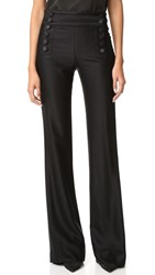 Veronica Beard Enchanted Evening Sailor Pants Black