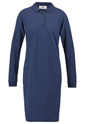 Bzr Evonne Summer Dress Peacoat Dark Blue