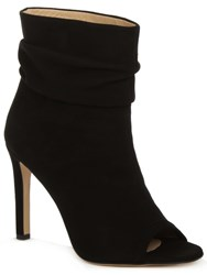 Daniel Bloomington Rouched Ankle Boots Black