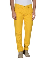 Siviglia Trousers Casual Trousers Men Yellow
