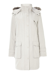 Cloud Nine Wadded Parka Jacket Winter White