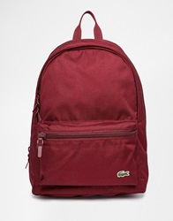 Lacoste Backpack Red