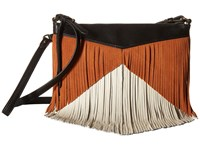 Sam Edelman Adrianna Fringe Crossbody Neutral Cross Body Handbags