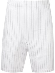 La Perla 'Next Stripes' Pyjama Set White