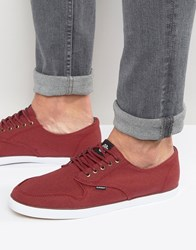 Element Topaz Trainers Red