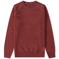 Barbour Staple Crew Neck Red
