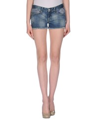 Rare Ra Re Denim Denim Shorts Women Blue