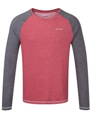 Craghoppers Nlife Bayame Ls T Red