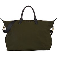 Barneys New York Women's Medium Weekender Bag Dark Green