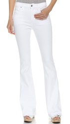 Citizens Of Humanity Fleetwood High Rise Flare Jeans Optic White