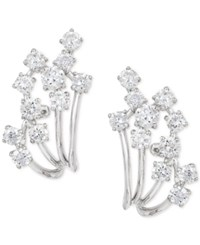Effy Collection Pave Classica By Effy Diamond Earrings 7 8 Ct. T.W. In 14K White Gold