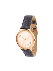 Forty Five Ten X Fossil Rose Gold Dial Watch Grey