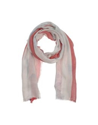 Fdn Oblong Scarves Red