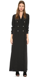 Stone Cold Fox Folk Maxi Dress Black