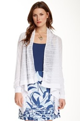 Tommy Bahama Linden Linen Cardigan White